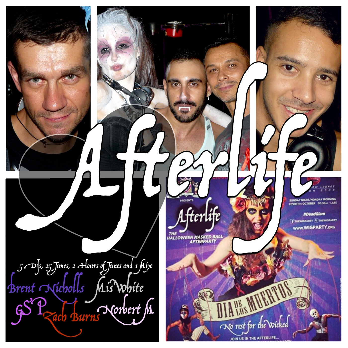 SPECIAL PODCASTS: AFTERLIFE- THE MASKED MAESTROS