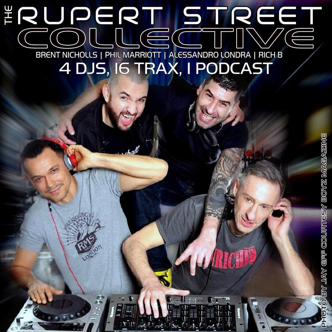 PODCAST: RUPERT STREET COLLECTIVE