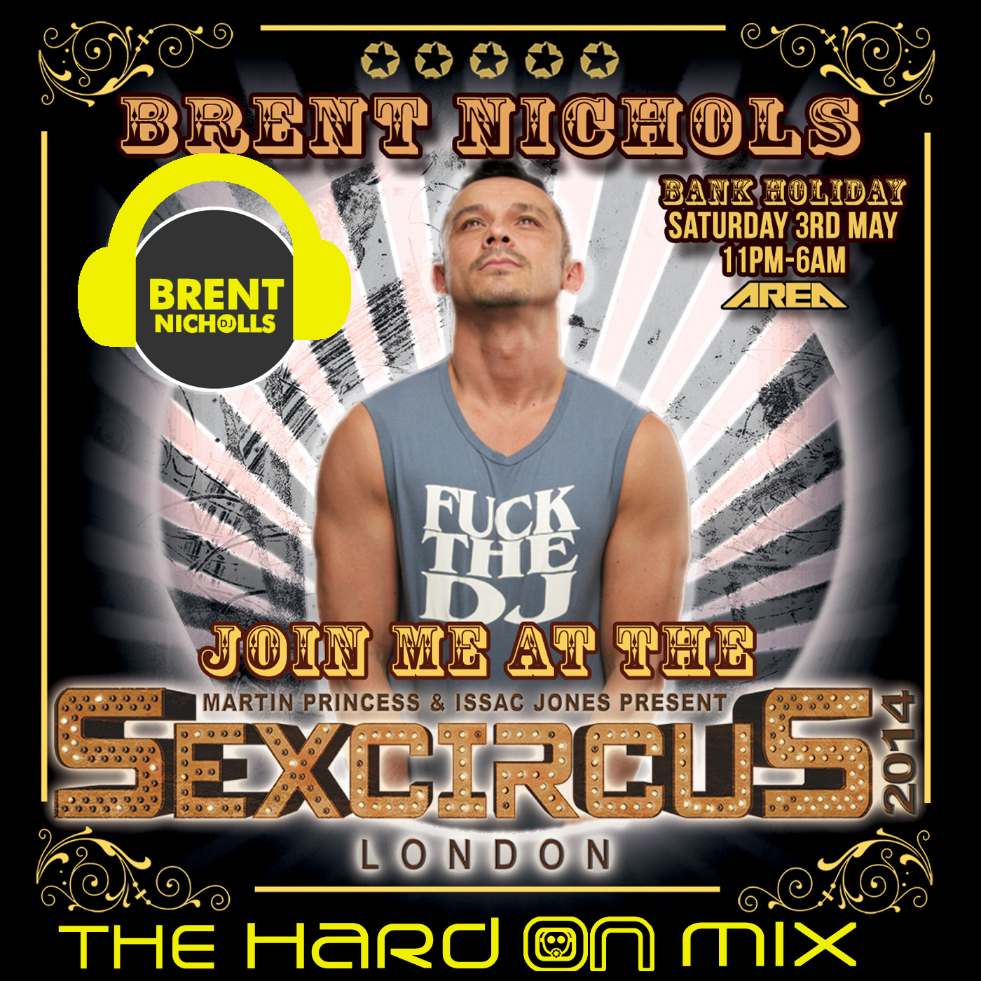 PODCAST: SEXCIRCUS- THE HARD ON MIX